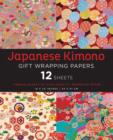Japanese Kimono Gift Wrapping Papers : 12 Sheets of High-Quality 18 x 24 inch Wrapping Paper - Book
