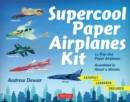 Supercool Paper Airplanes Kit : 12 Pop-Out Paper Airplanes - Assembled in About a Minute - Book