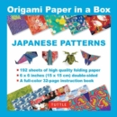 Origami Paper in a Box : Japanese Patterns - Book