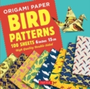 Origami Paper - Bird Patterns - 6 inch (15 cm) - 100 sheets : Tuttle Origami Paper: High-Quality Origami Sheets Printed with 8 Different Designs Instructions for 8 Projects Included - Book