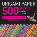 "Origami Paper 500 Sheets Kaleidoscope Patterns 6"" (15 CM) : 12 Double-Sided Designs - Book"