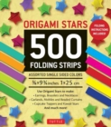 Origami Stars : 500 Folding Strips - Book