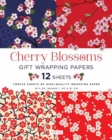Cherry Blossoms Gift Wrapping Papers - Book