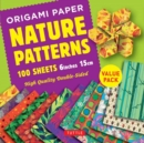 Origami Paper 100 sheets Nature Patterns 6 inch (15 cm) : High-Quality Origami Sheets Printed with 8 Different Designs Instructions for 8 Projects Included - Book
