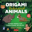 Origami Endangered Animals Kit : Paper Models of Threatened Wildlife - Book
