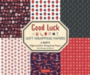 Good Luck Gift Wrapping Papers - 6 Sheets : 6 Sheets of High-Quality 18 x 24 inch Wrapping Paper - Book