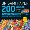 Origami Paper 200 sheets Candy Patterns 6 (15 cm) - Book