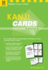 Kanji Cards Kit Volume 4 : Learn 537 Japanese Characters Including Pronunciation, Sample Sentences and Related Compound Words - Book