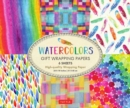 Watercolors Gift Wrapping Papers : 6 Sheets of High-Quality  24 x 18 inch Wrapping Paper - Book