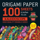 "Origami Paper 100 sheets Kaleidoscope 6"" (15 cm) : Tuttle Origami Paper: High-Quality Double-Sided Origami Sheets Printed with 12 Different Patterns: Instructions for 6 Projects Included - Book"