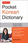 Tuttle Pocket Korean Dictionary : Korean-English, English-Korean - Book