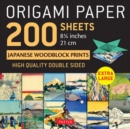 "Origami Paper 200 sheets Japanese Woodblock Prints 8 1/4"" : Extra Large Tuttle Origami Paper: High-Quality Double Sided Origami Sheets Printed with 12 Different Prints (Instructions for 6 Projects Inc - Book"