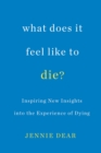 What Does It Feel Like To Die? : Inspiring New Insights into the Experience of Dying - Book