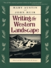 Writing the Western Landscape - Book