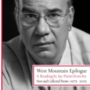 West Mountain Epilogue : A Reading by Jay Parini from his New and Collected Poems: 1975-2015 - eAudiobook