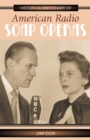 Historical Dictionary of American Radio Soap Operas - eBook