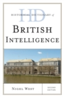 Historical Dictionary of British Intelligence - eBook