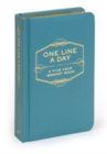 One Line A Day: A Five-Year Memory Book - Book