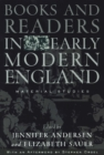 Books and Readers in Early Modern England : Material Studies - eBook