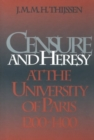 Censure and Heresy at the University of Paris, 1200-1400 - eBook