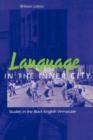 Language in the Inner City : Studies in the Black English Vernacular - Book