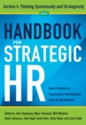 Handbook for Strategic HR - Section 4 : Thinking Systematically and Strategically - eBook