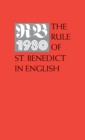 The Rule of St. Benedict in English - eBook