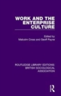 Work and the Enterprise Culture - Book