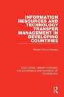 Information Resources and Technology Transfer Management in Developing Countries - Book