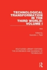 Technological Transformation in the Third World: Volume 1 : Asia - Book