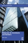 Materials for Architects and Builders - Book
