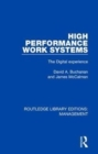 High Performance Work Systems : The Digital Experience - Book