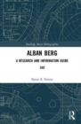 Alban Berg : A Research and Information Guide - Book