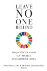 Leave No One Behind : Time for Specifics on the Sustainable Development Goals - eBook