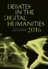 Debates in the Digital Humanities 2016 - Book