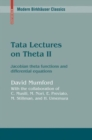 Tata Lectures on Theta II : Jacobian theta functions and differential equations - eBook