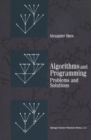 Algorithms and Programming : Problems and Solutions - eBook