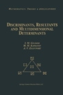 Discriminants, Resultants, and Multidimensional Determinants - eBook