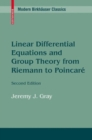 Linear Differential Equations and Group Theory from Riemann to Poincare - eBook