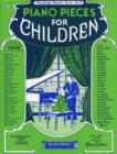 Piano Pieces for Children (Efs 3) - Book