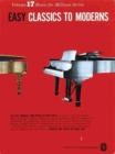 Easy Classics To Moderns Piano - Book