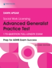 Social Work Licensing Advanced Generalist Practice Test : 170-Question Full-Length Exam - eBook