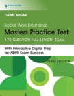 Social Work Licensing Masters Practice Test : 170-Question Full-Length Exam - eBook