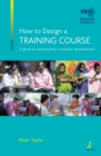 How to Design a Training Course - eBook