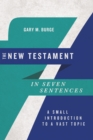 The New Testament in Seven Sentences - eBook