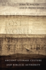 The Lost World of Scripture - eBook