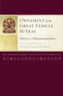 Ornament of the Great Vehicle Sutras : Maitreya's Mahayanasutralamkara with Commentaries by Khenpo Shenga and Ju Mipham - eBook