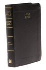KJV, Vest Pocket New Testament and   Psalms, Leathersoft, Black, Red Letter Version : Holy Bible, King James Version - Book
