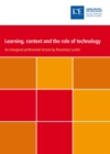 Learning, context and the role of technology - eBook