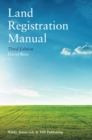 Land Registration Manual - Book